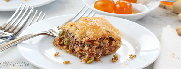 Baklava recipe, Greece, Corfu