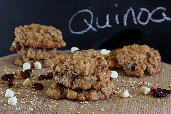 Quinoa Oatmeal Cookies