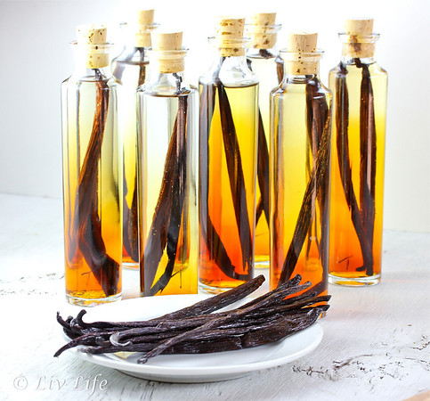 Homemade Vanilla Extract, Vanilla Bean, Holiday gift