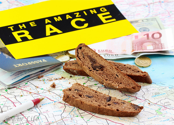 Amazing Race Nutella Biscotti