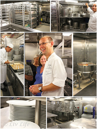 Seabourn, Galley Tour, Chef Martin Kitzing
