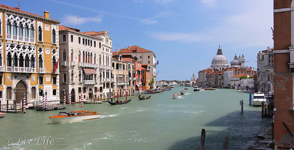 View of Grand Canal from Acadamia Bridge