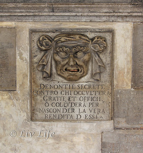Lion head, doge's palace