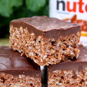 Nutella Krispie Treat