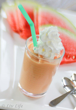Watermelon Banana Smoothie #Lensbaby