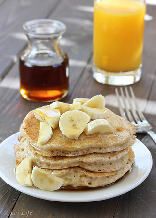 Fluffy Heart-Healthy Vegan Pancakes