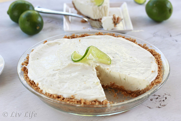 Frozen Margarita Lime Pie