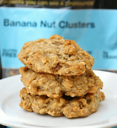 Peanut Butter Banana Cluster Kind Cookies