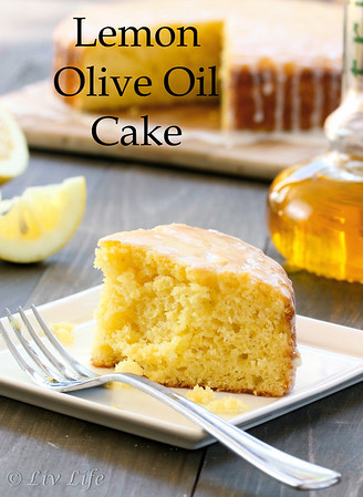 Lemon Cake with Olive Oil