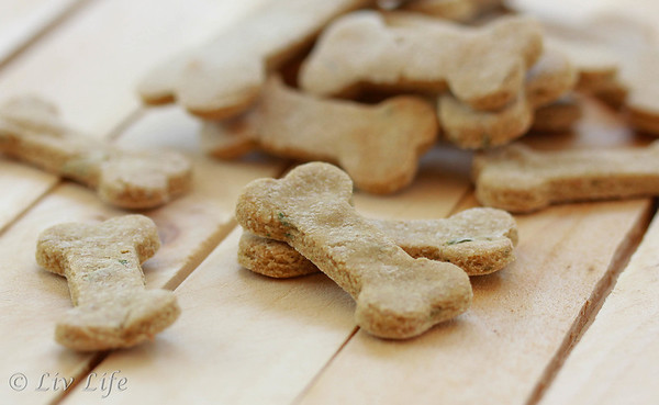 Homemade Doggie Treats - Bowzer Bites
