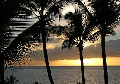 Maui, Hawaii, Kea Lani, Sunset,