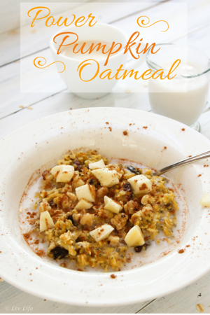 Power Pumpkin Oatmeal