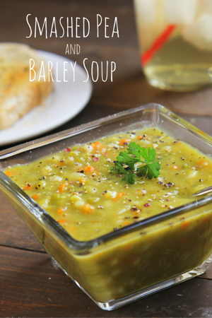 Split Pea Soup with Barley - A Fire Driven Life